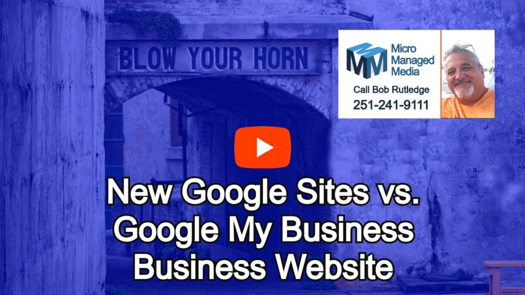 Discover Google My Business Websites and New Google Sites