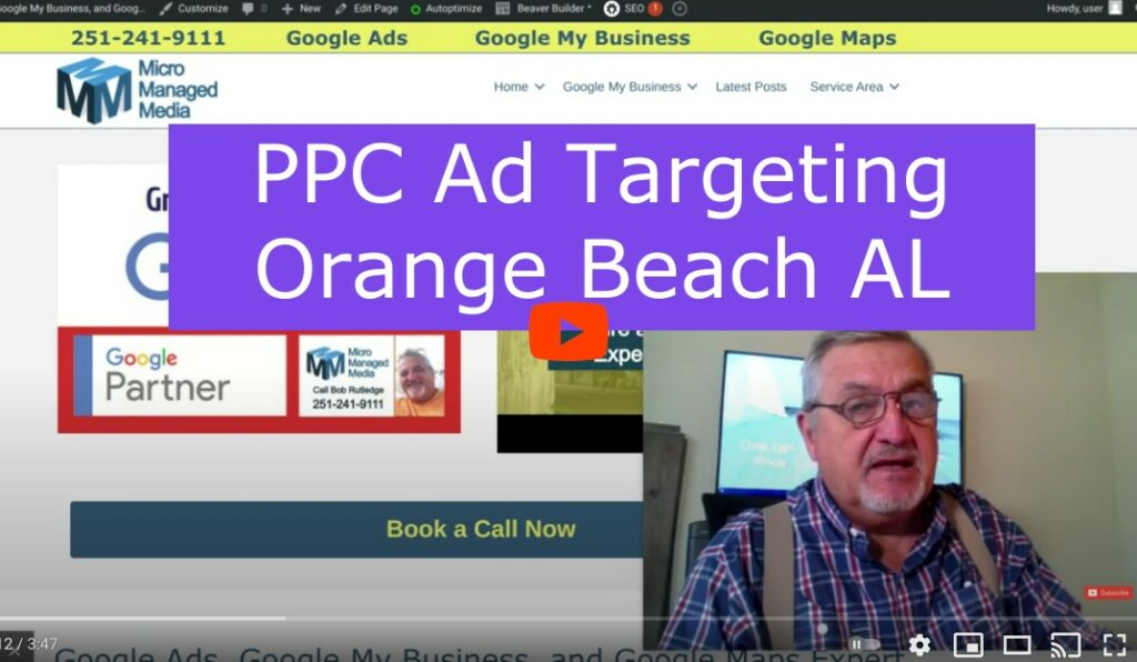 PPC Ads Orange Beach AL
