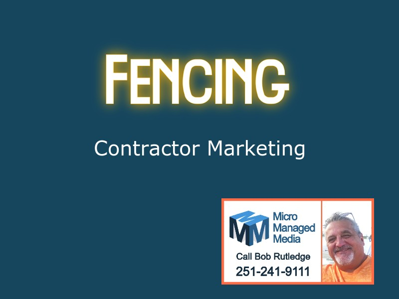 Fence Contractor Marketing Agency