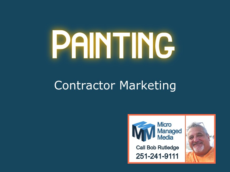 Painting Contractor Marketing