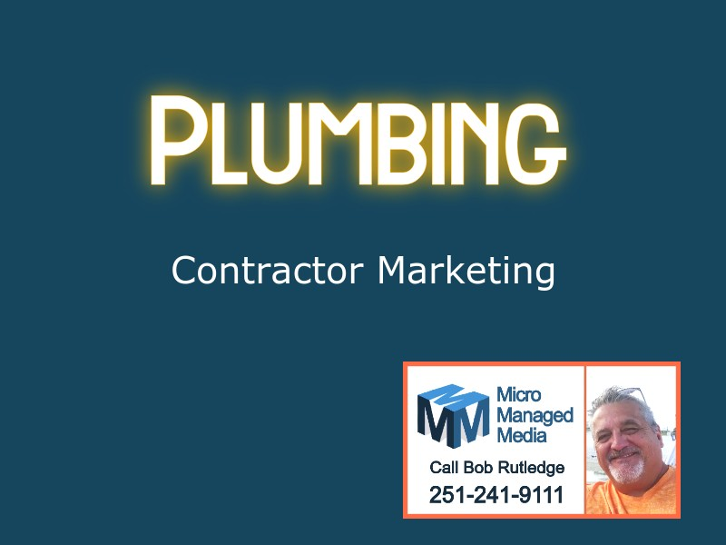 Plumbing Contractor Marketing