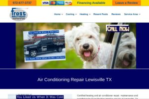 Frost heating and air conditioning
