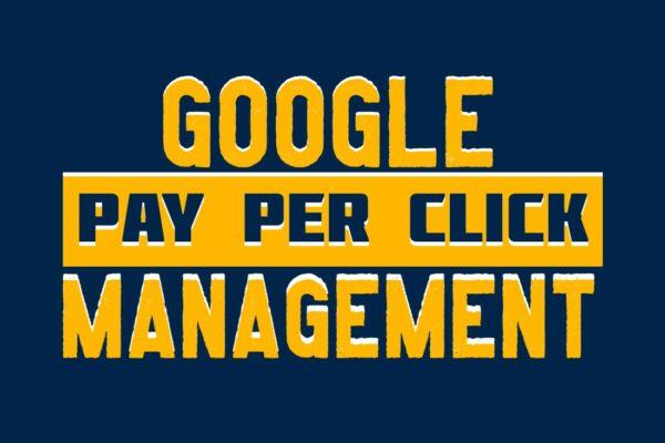 Google pay-per-click management