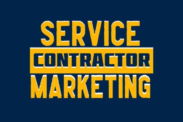 service contractor marketing