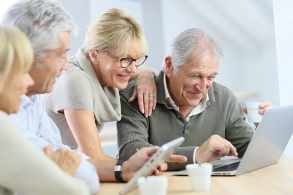 seniors in a digital world